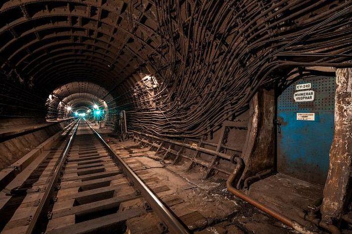 метро, станция, тоннель