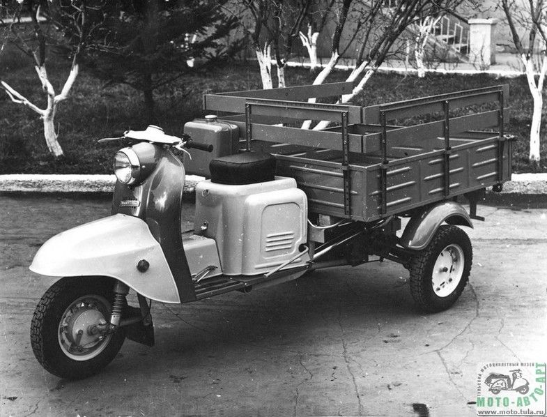 мотоцикл, мотороллер, мото, тула. муравей, история марки