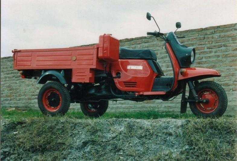 Тульские мини-грузовички были