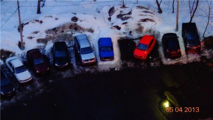 парковка, семейная парковка,