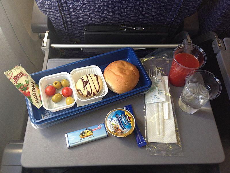 Обожаю еду в самолете фото