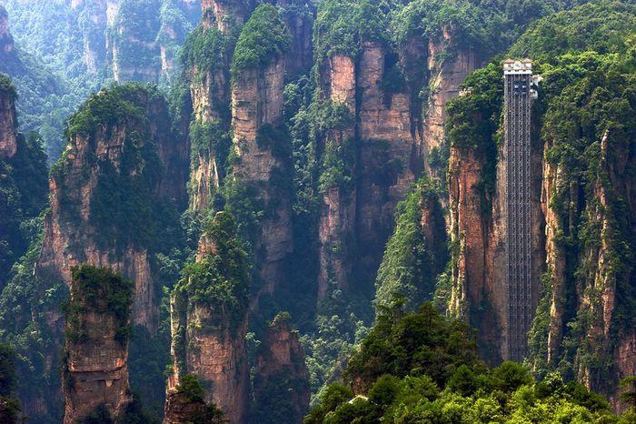 горы, достопримечательности, китай, пейзажи, природа, рекорд