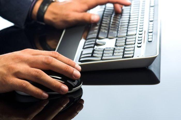 клавиатура, мышь, компьютер