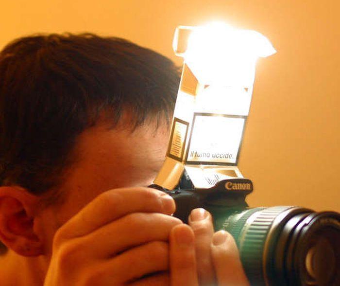 фотоаппарат, вспышка, своими руками