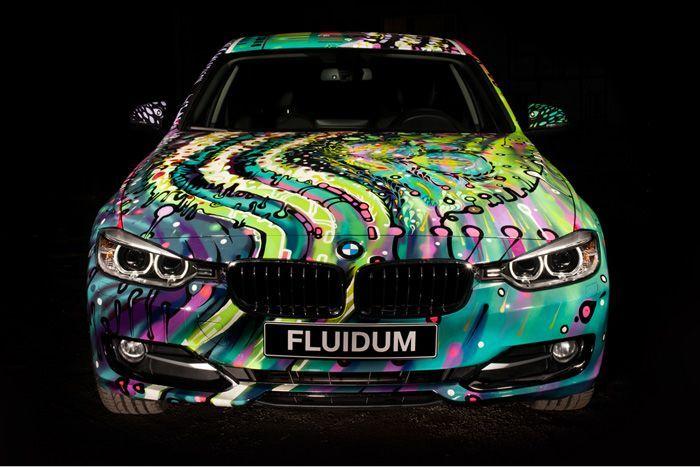 авто, fluidum, bmw,  andy reiben, тюнинг, энди рейбен