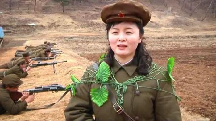 Шикарное фото армия, девушка, северная корея, солдат