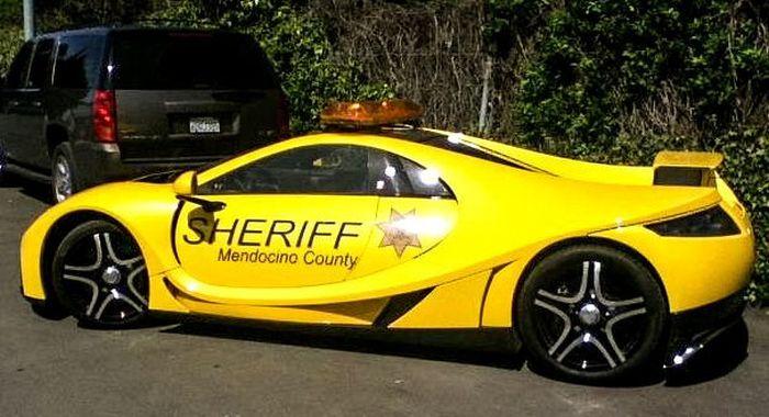 Улетное фото красивая, крутая машина, шериф