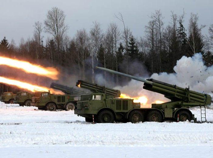 боевая техника, танк, артиллерия, взрыв