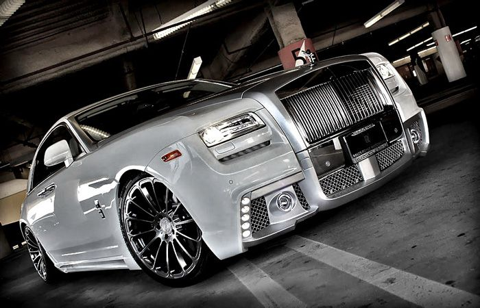 авто, rolls-royce ghost, wald international, тюнинг