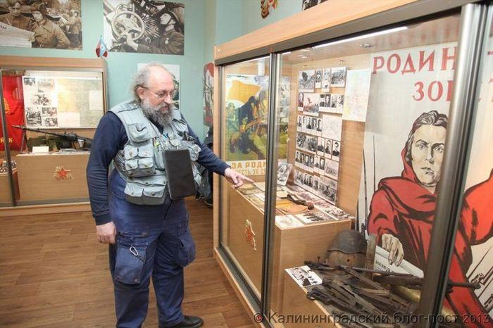 вассерман, анатолий, оружие, музей