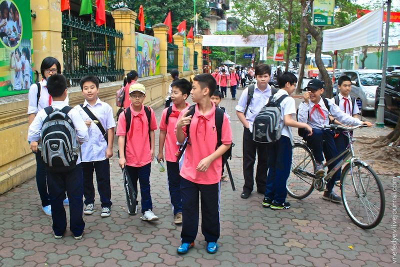 Образование русских детей во вьетнаме