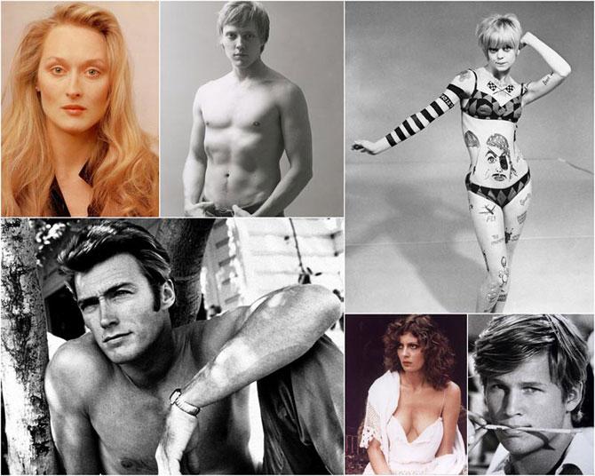 20 век, актеры, молодость