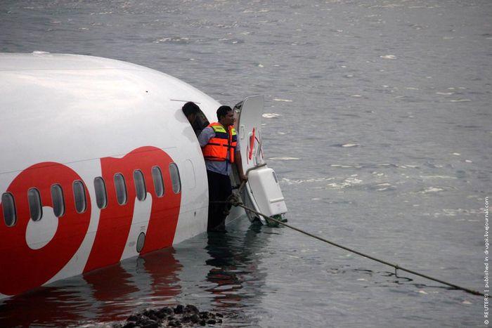 самолет, авиапроисшествие, бали