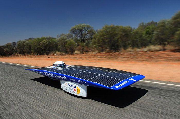 авто, солнечные батареи, австралия, гонки