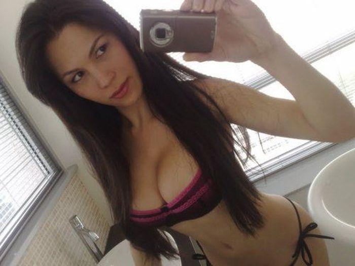 Сексуальная упругая грудь фото 354-23