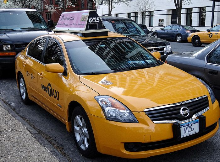 авто, taxi, nypd, такси, под прикрытием