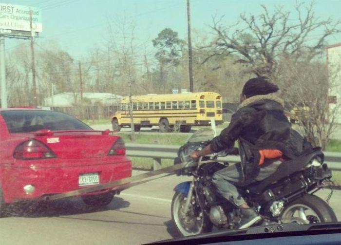 Фотка байк, буксировка, мотоцикл