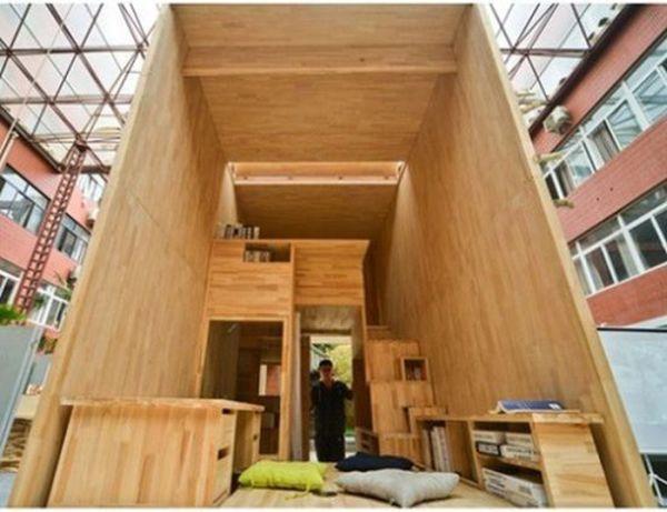 Su vivienda en sólo 23 metros cuadrados