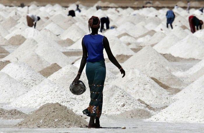 соль, шахты