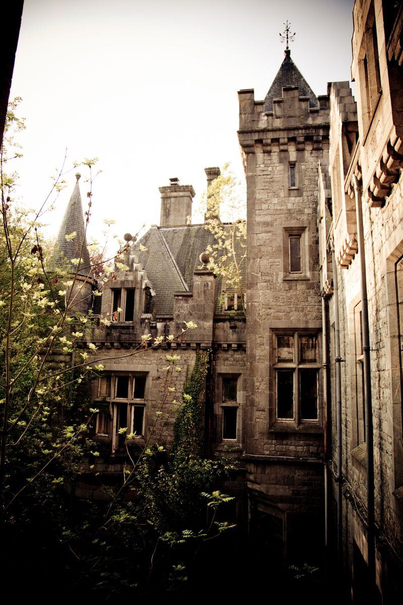 бельгия, заброшенное, замок