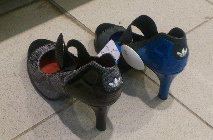 Фотоприкол онлайн адидас, обувь, прикол, туфли