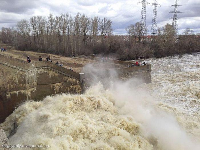 дубна, волга, река, потоп