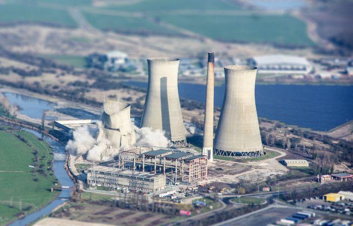 Новый фотоприкол атомная электростанц, вид сверху, энергетика