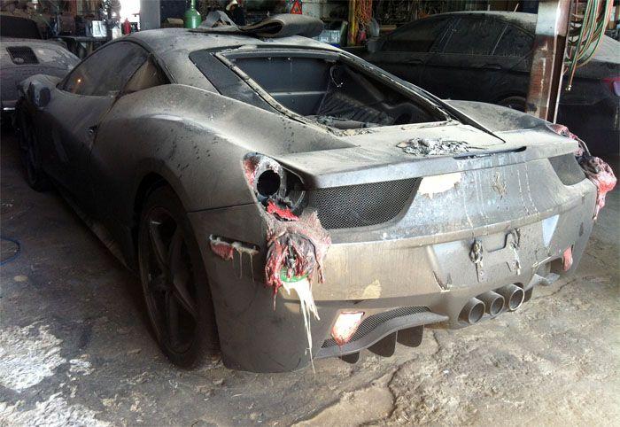 авто, автовоз, сгорел авто