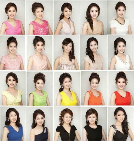 конкурса красоты,  южная корея, девушки
