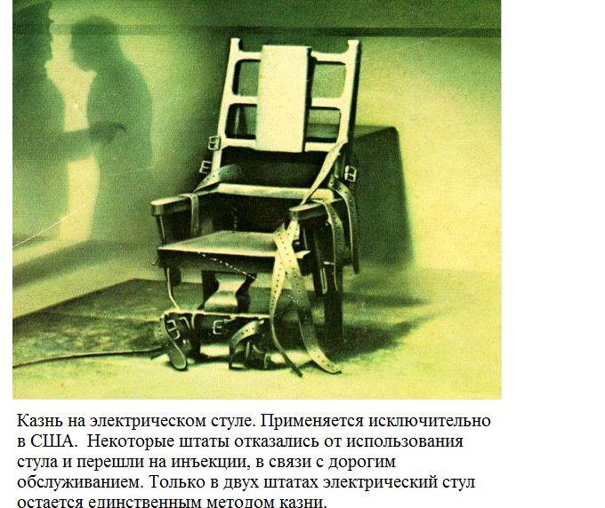 виды сертной казни: