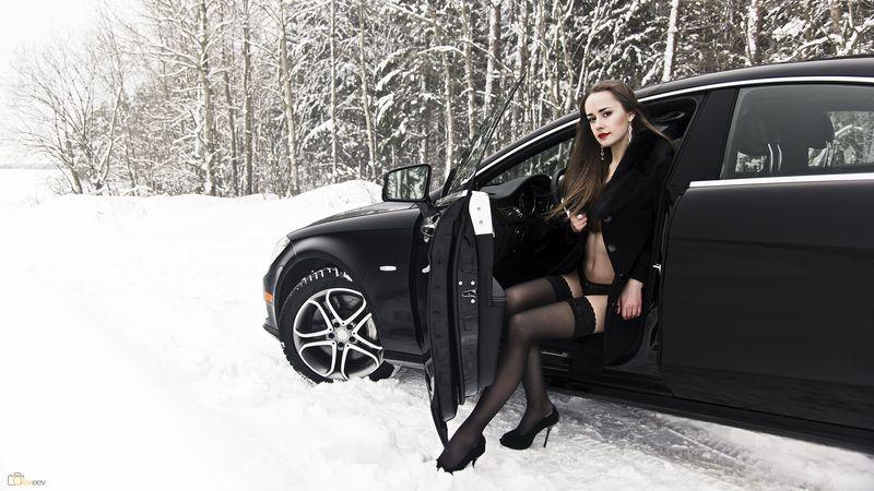 Красивые фотки зимой с машиной фото 451-108