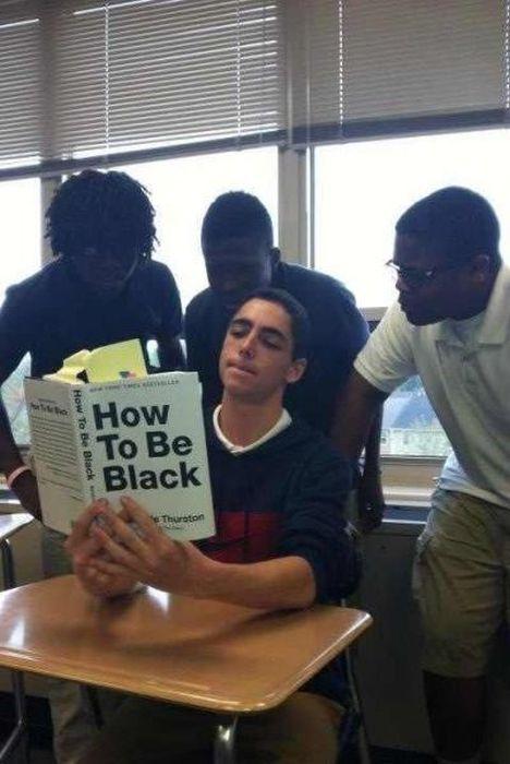 Бесплатный фотоприкол книга, прикол, темнокожие