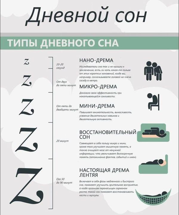 инфографика, сон, факты,