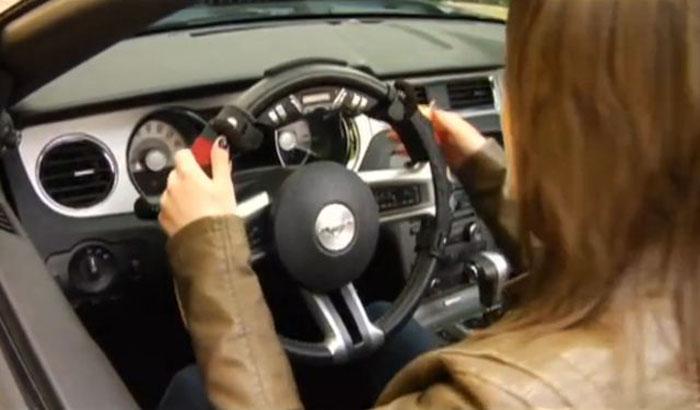 авто, музыкальный руль
