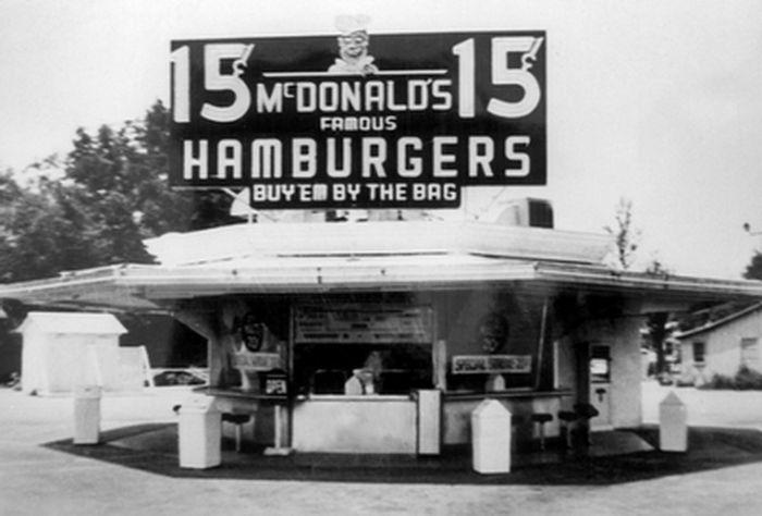 макдональдс, бургер, гамбургер, еда, ресторан