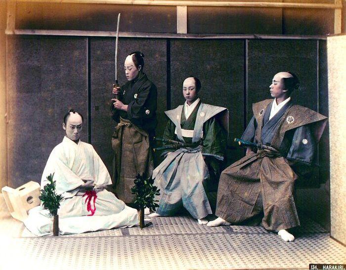самурай, харакири, церемония, истина