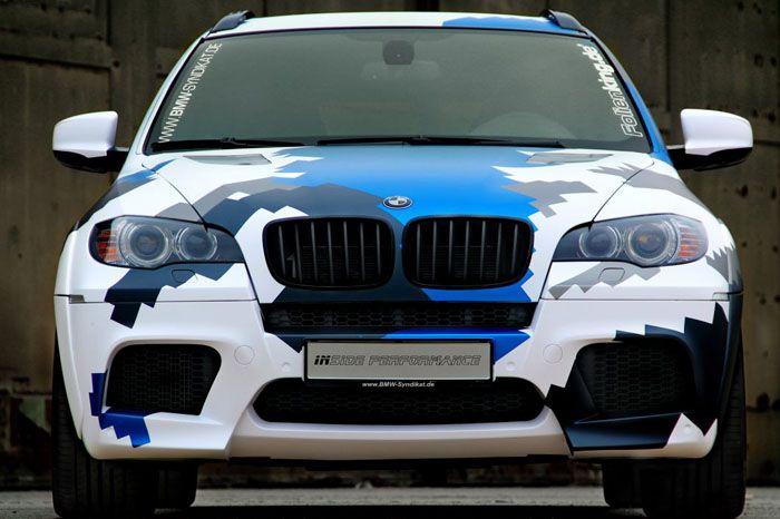 авто, bmw x6 m, тюнинг, inside performance