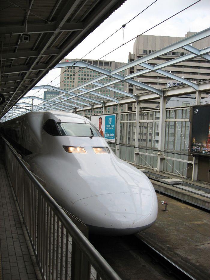 Японские поезда (15 фото)