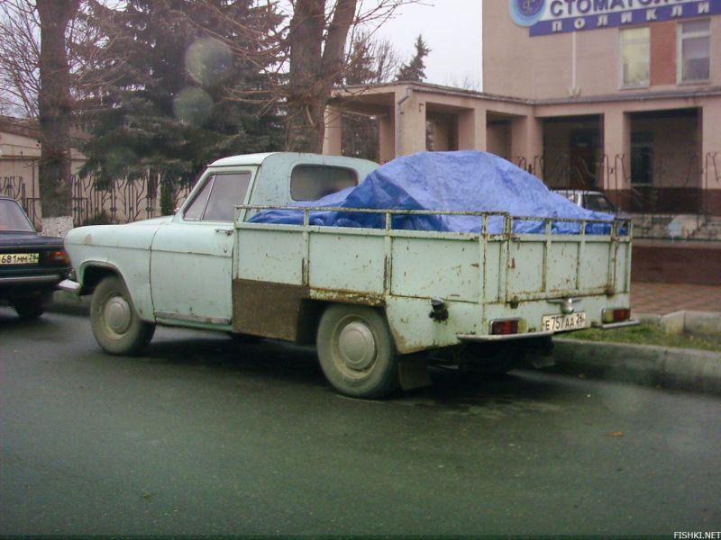 Нестандартные русские автомобили (81 фото)
