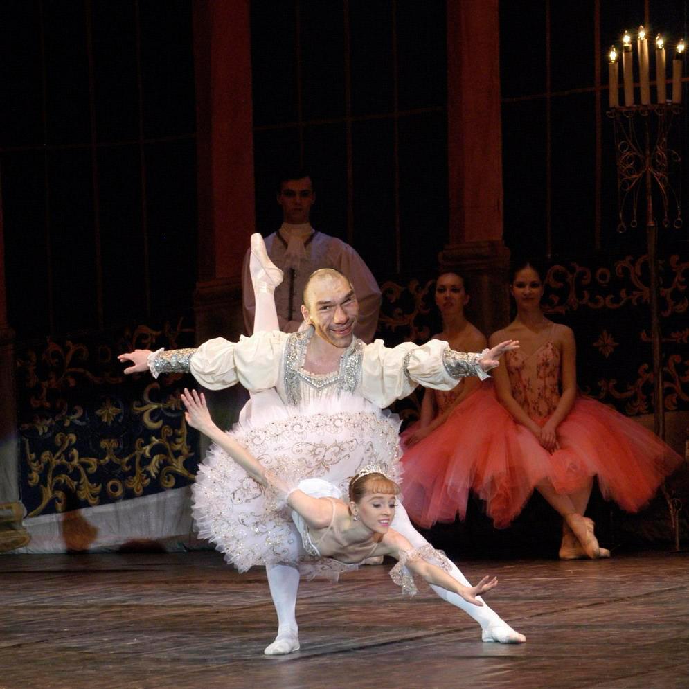 Открытку, смешные картинки балет