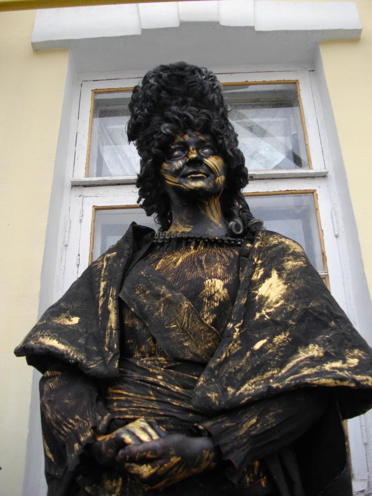 Чемпионат живых скульптур в Евпатории (123 фото + видео)