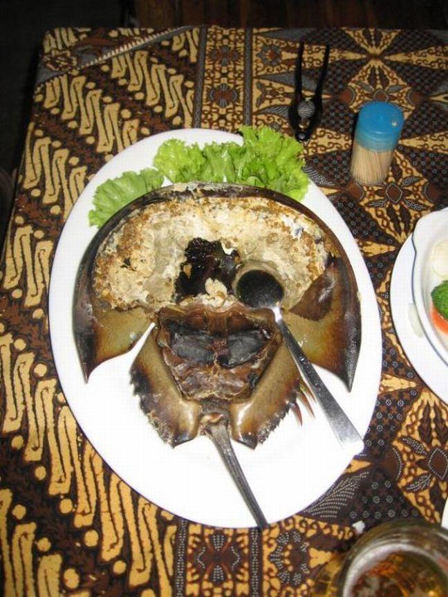 Horseshoe Crab Roe & Nast