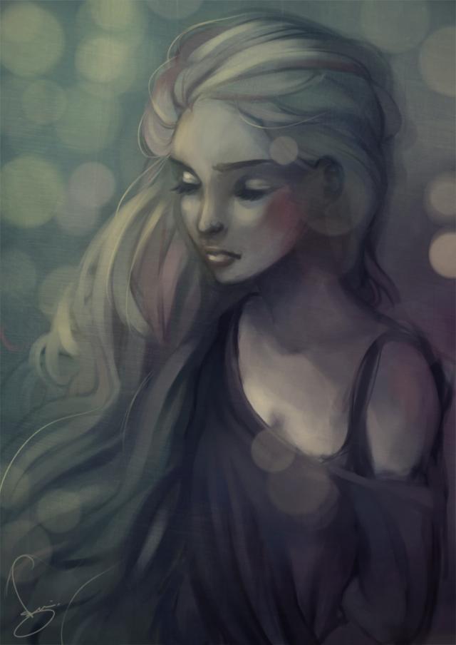Рисунки девочек (20 фото)