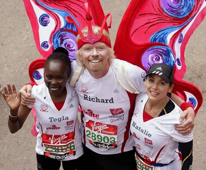 Лондонский марафон Virgin (31 фото)