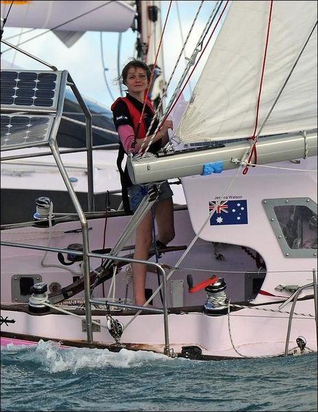 Австралийская школьница завершила кругосветное путешествие (14 фото)