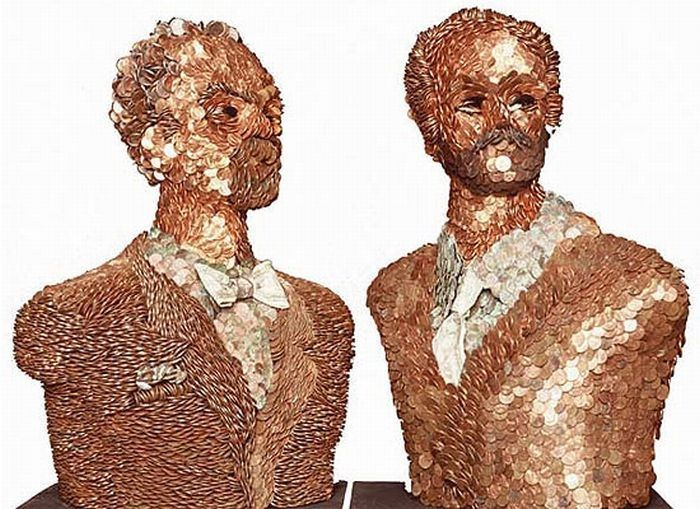 Тела, сделанные из различных материалов (13 фото)