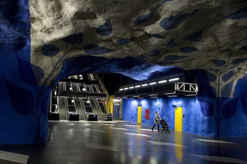 Метро, как произведение искусства и подземная галерея