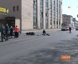 Не заметил мотоциклиста
