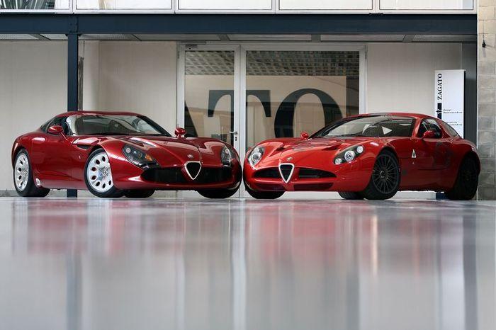 Alfa Romeo TZ3 Stradale от ателье Zagato (6 фото+видео)