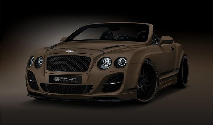 В Prior Design показали фото проекта над Bentley Continental GTC (3 фото)